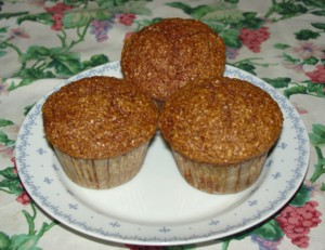 New England Recipes - Bran Muffins
